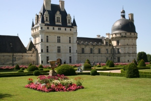The chateau at Valencay