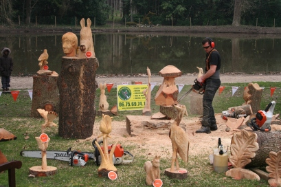 Chain saw art